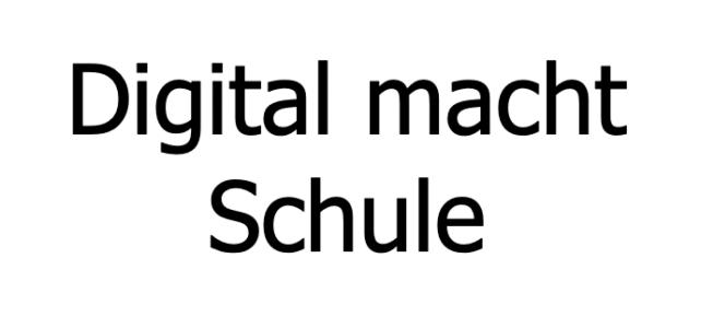 Das Projekt Digital macht Schule